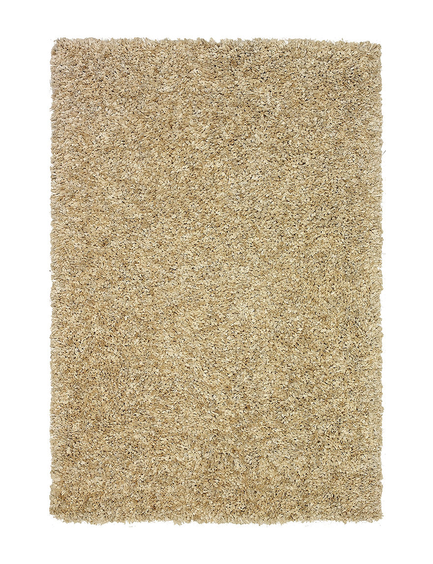Dalyn Rugs Ombre Tan Utopia Collection Super Soft Area Rug