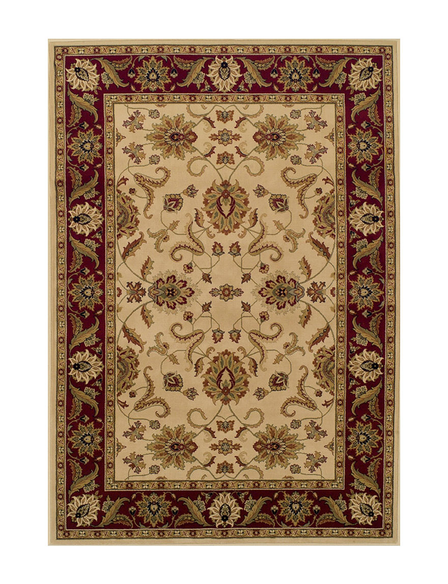 Dalyn Rugs Traditional Floral Border Print Wembley