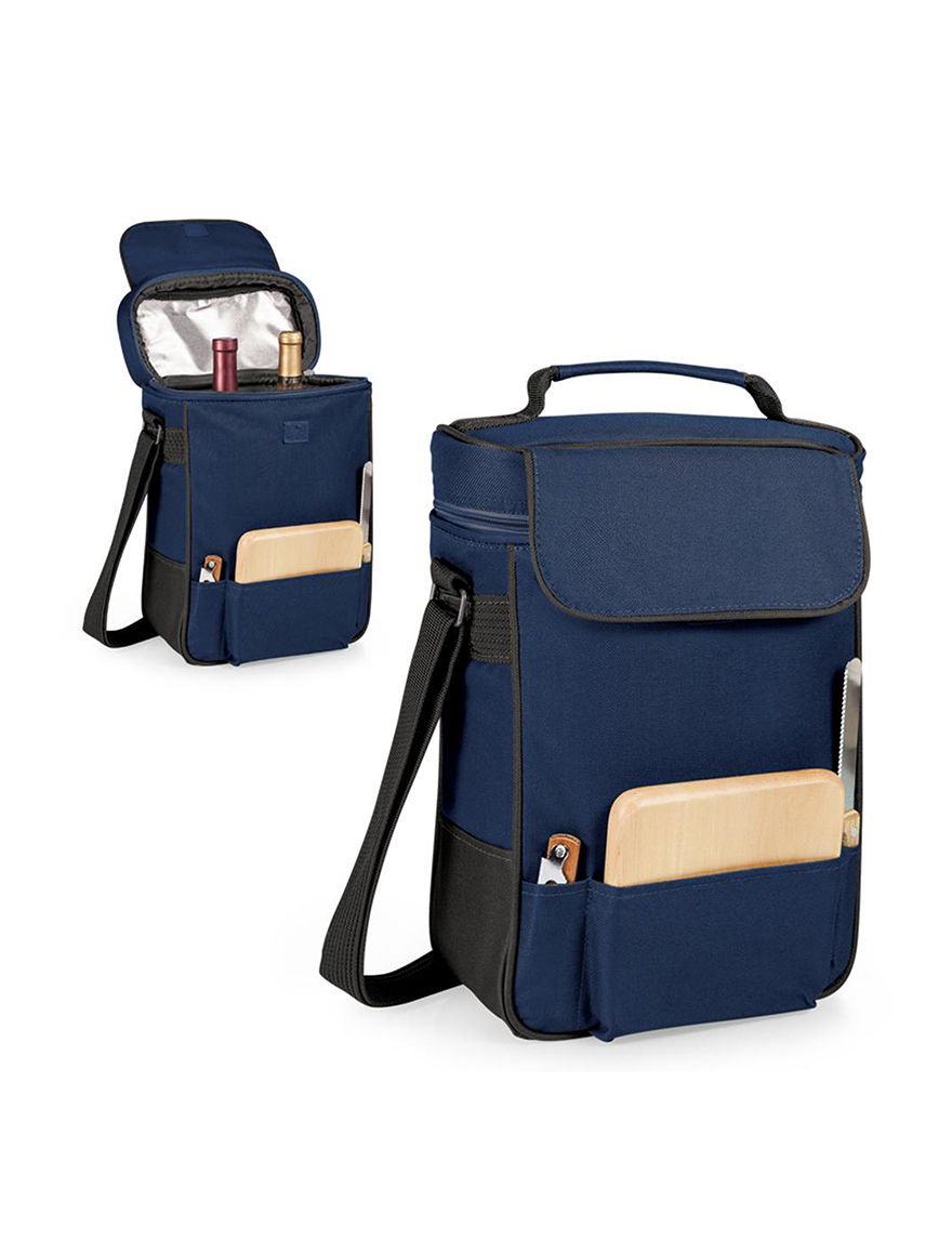 Picnic Time Navy Carriers & Totes Coolers Wine & Bar Tools Bar Accessories Camping & Outdoor Gear