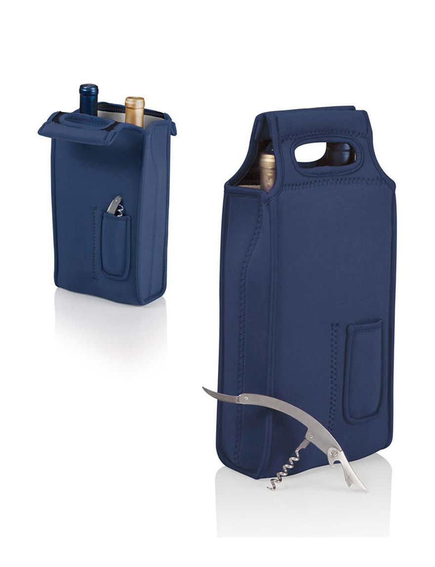 Picnic TIme Navy Carriers & Totes Coolers Wine & Bar Tools Wine Coolers Bar Accessories Camping & Outdoor Gear