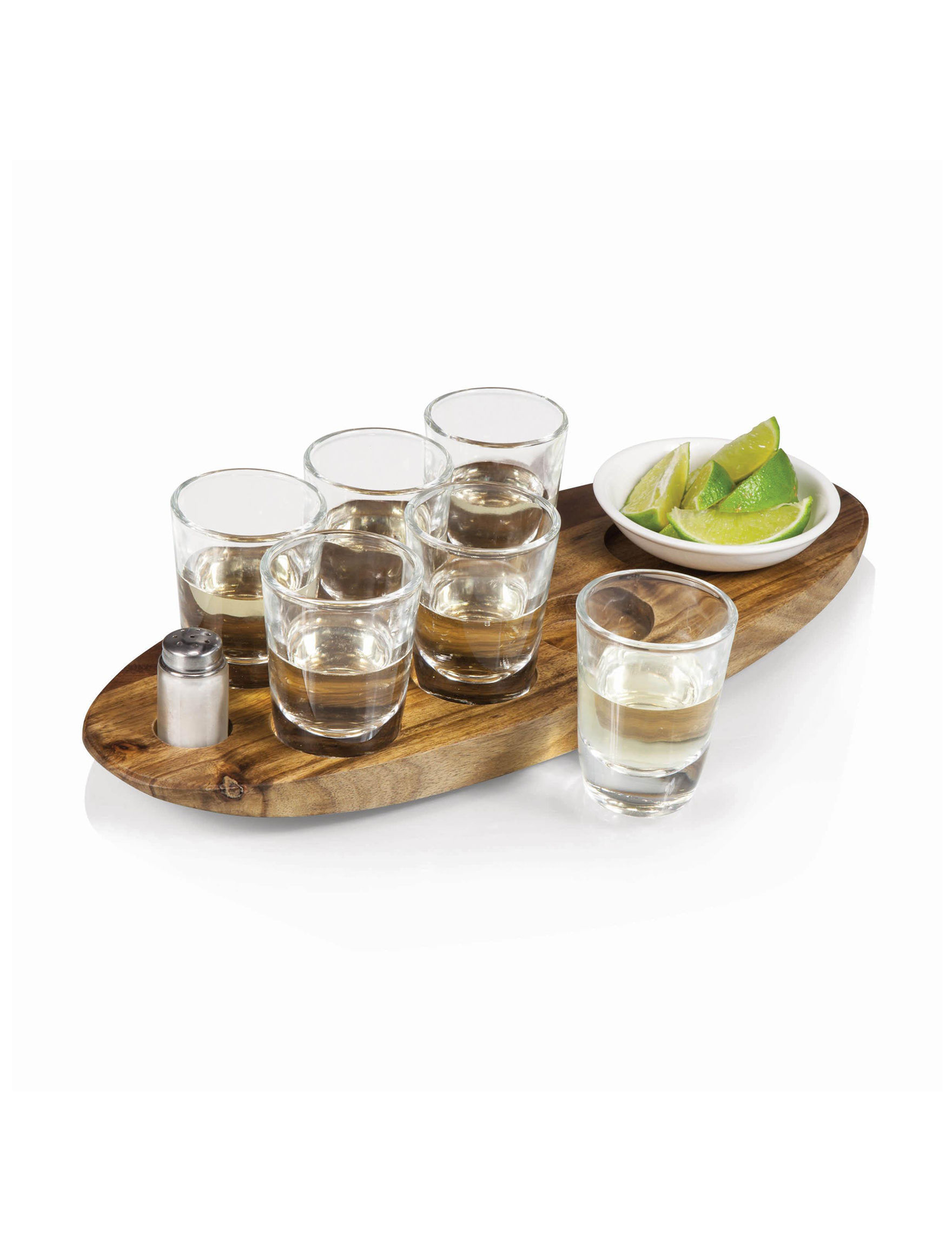 Picnic Time Natural Cocktail & Liquor Glasses Drinkware Sets Wine & Bar Tools Bar Accessories Drinkware