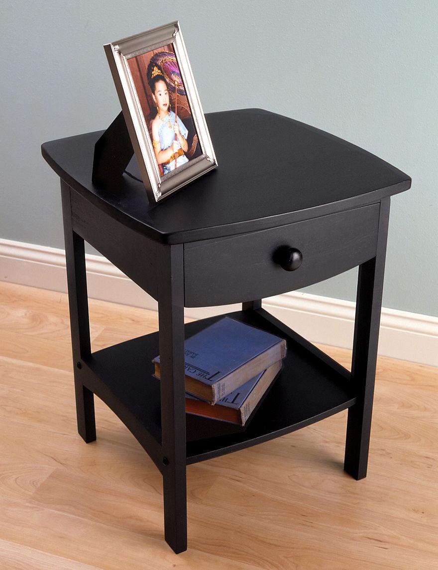 Winsome Black Living Room Furniture