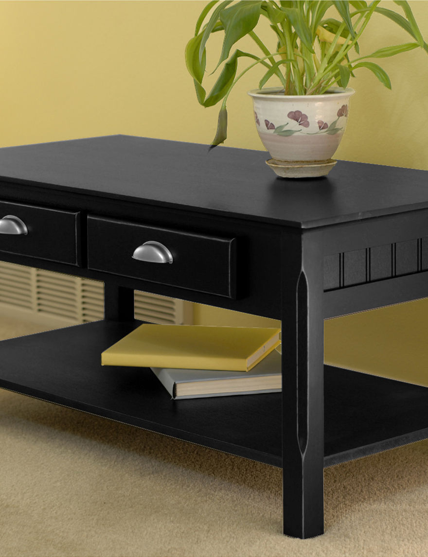 Winsome Black Coffee Tables Living Room Furniture