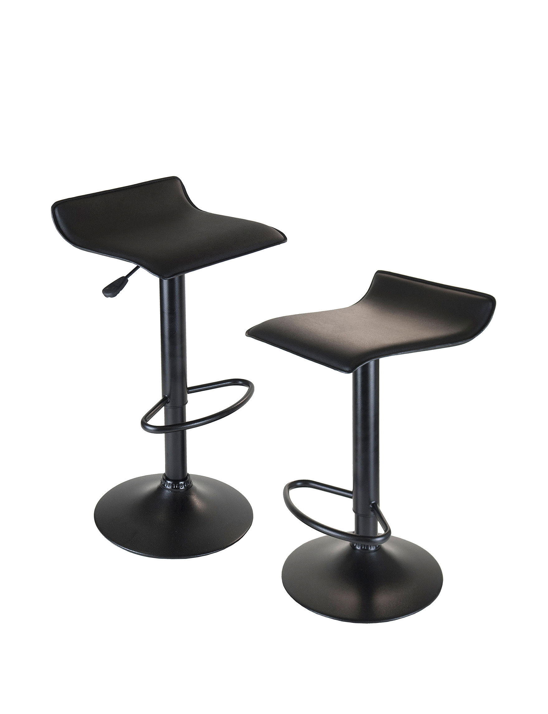 Winsome Black Bar & Kitchen Stools Kitchen & Dining Furniture