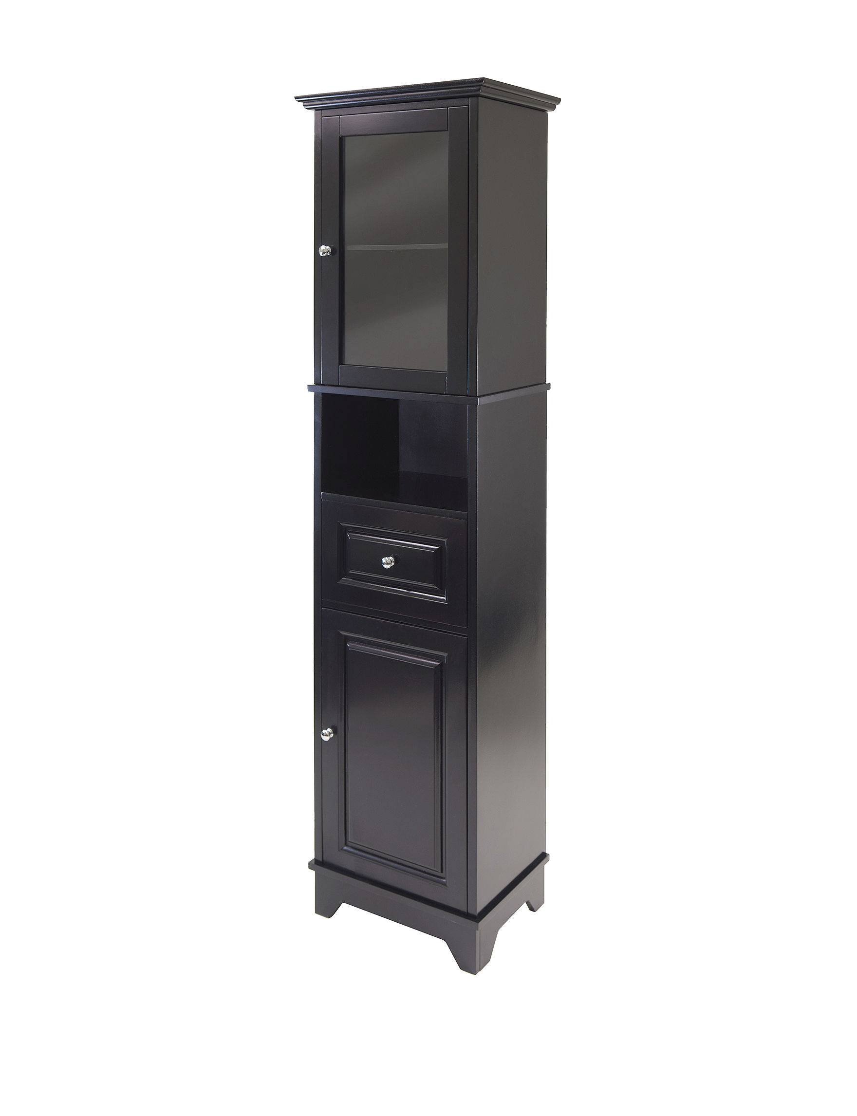Winsome Black Cabinets & Cupboards Home Office Furniture