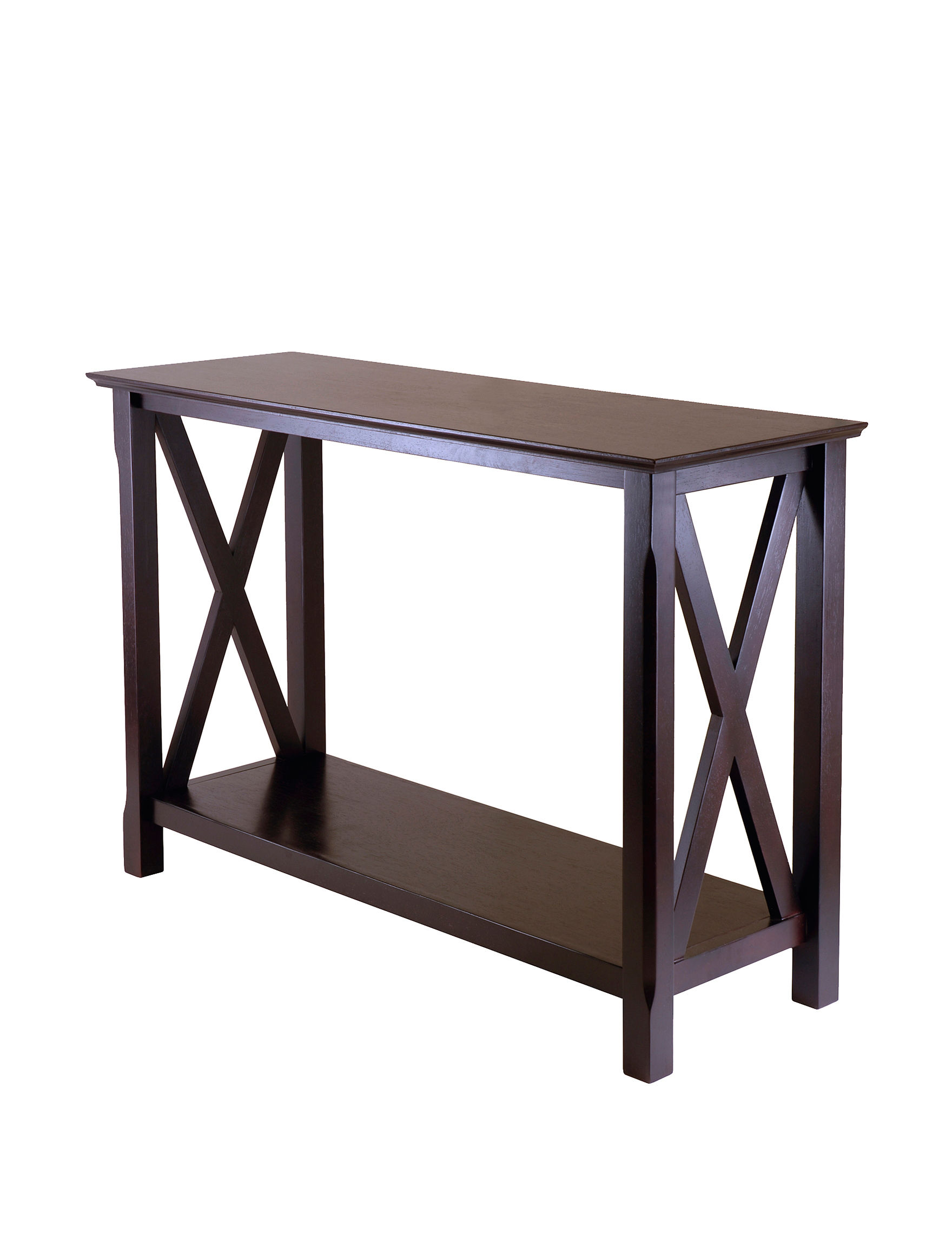 Winsome Dark Brown Accent & End Tables Living Room Furniture