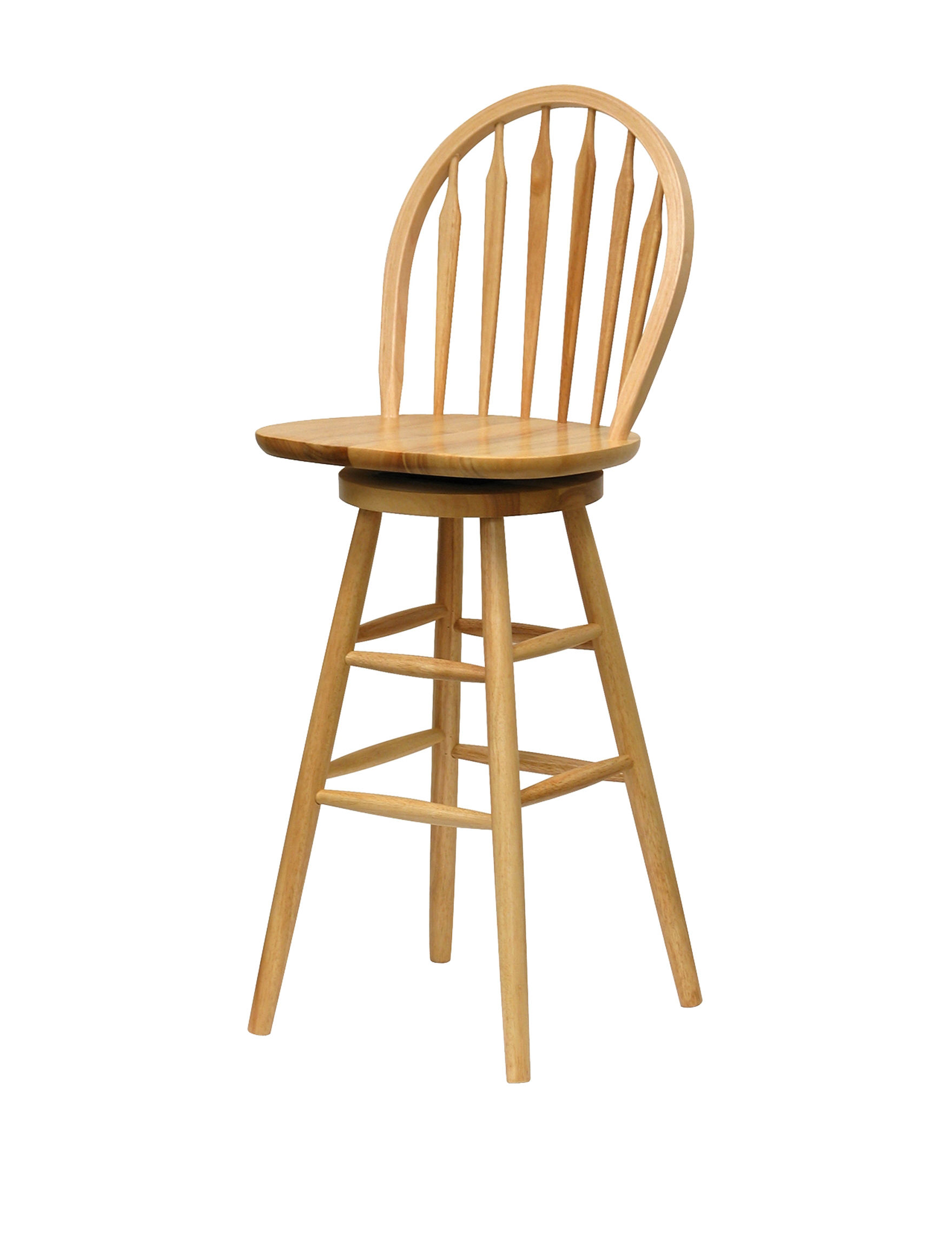 Winsome 30 Inch Windsor Single Swivel Stool Stage Stores