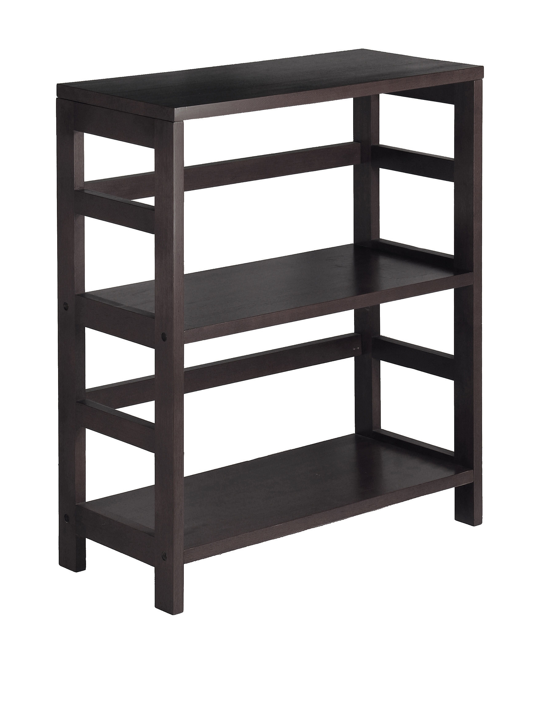 Winsome Brown Storage Shelves Living Room Furniture