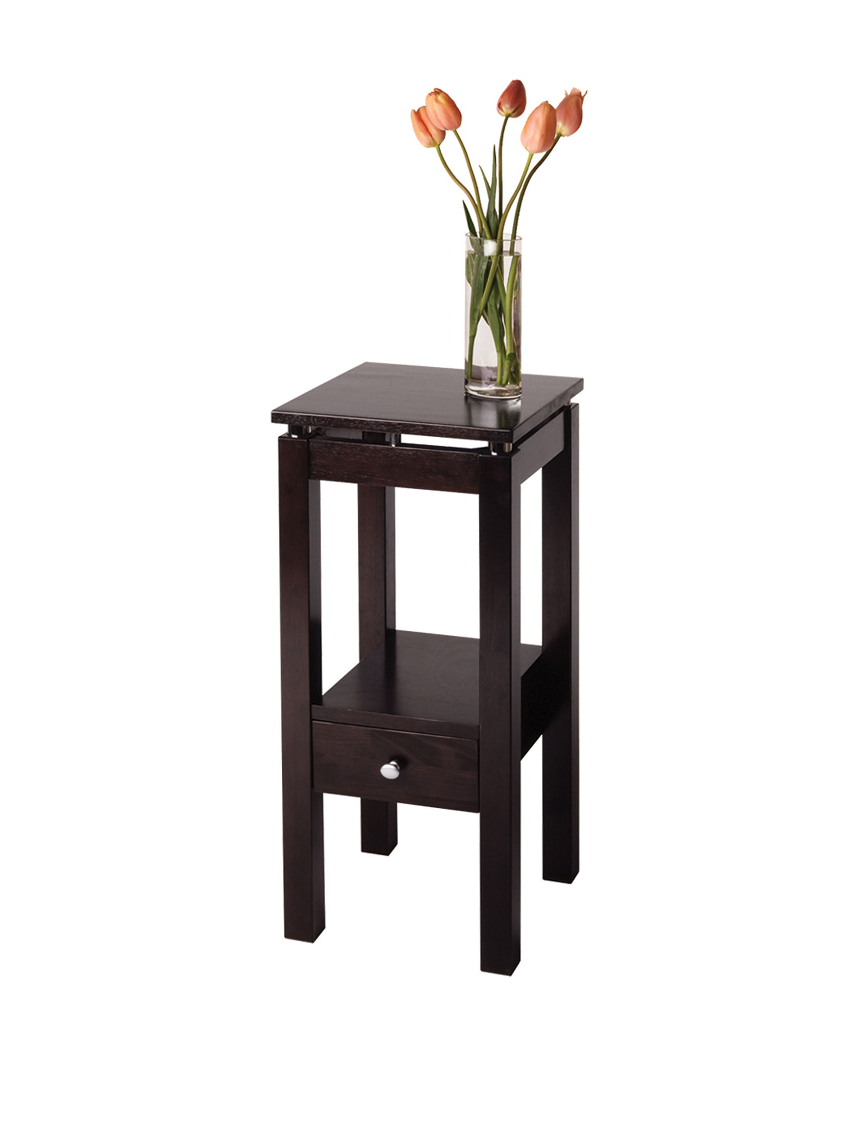 Winsome Chocolate Accent & End Tables Living Room Furniture
