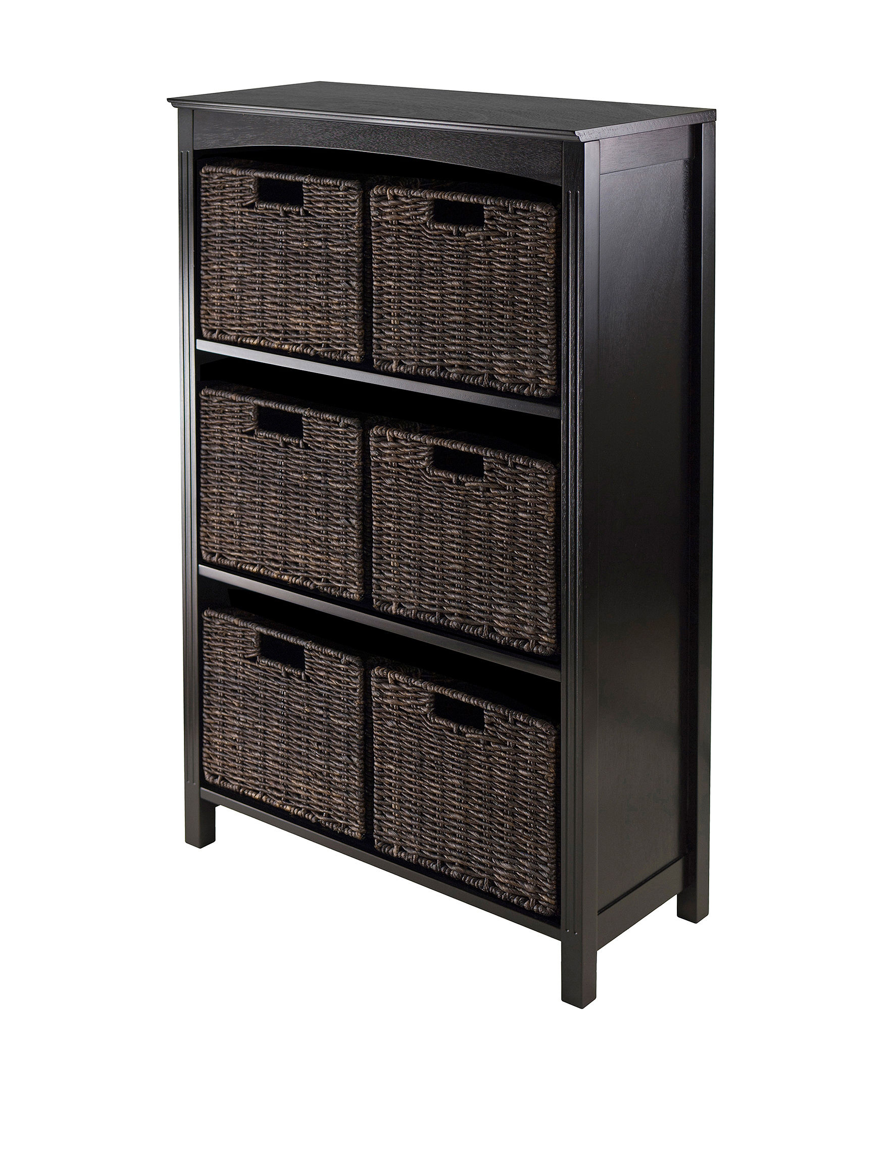 Winsome Chocolate Baskets Home Office Furniture