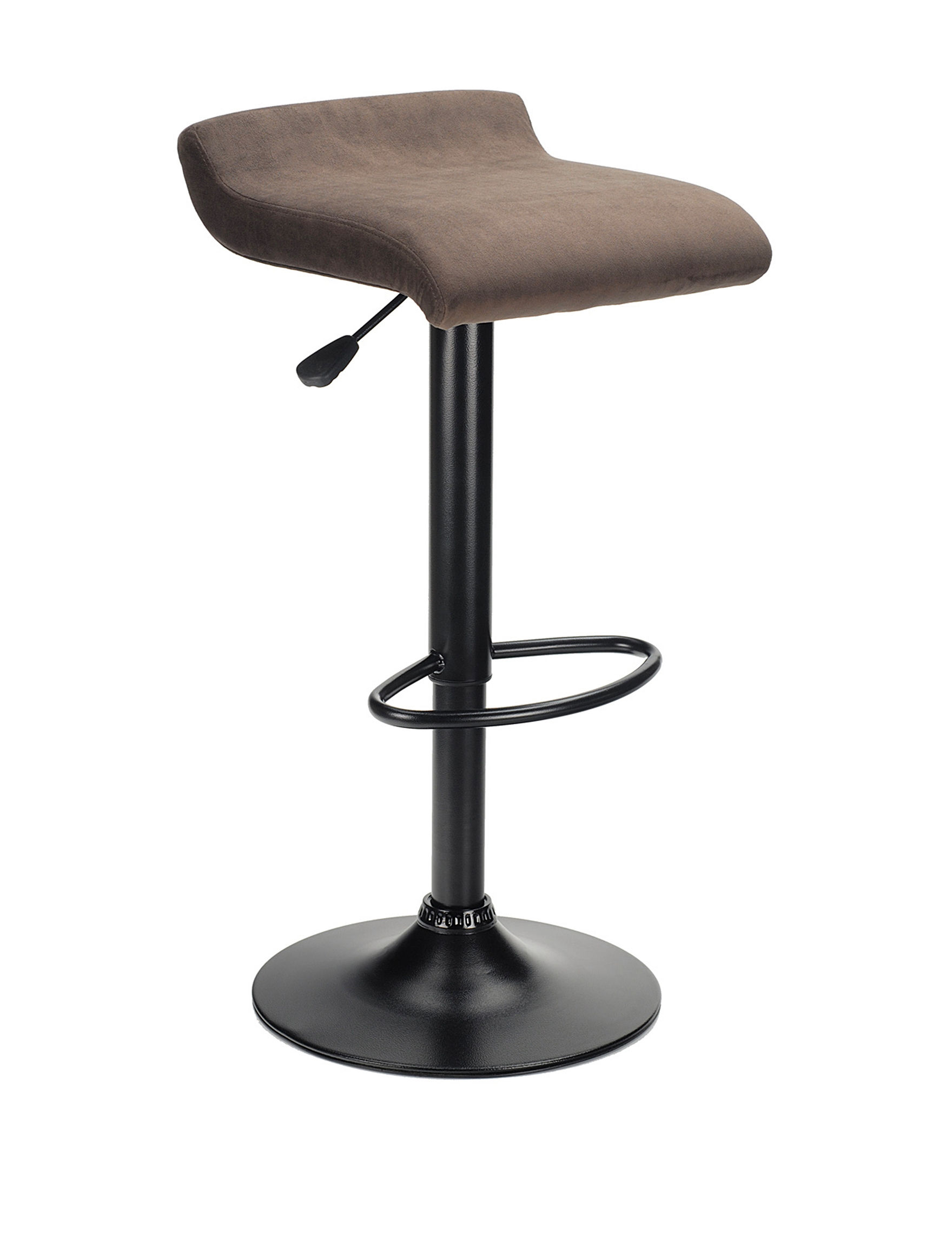 Winsome Micro Fiber Marni Airlift Stool Stage Stores