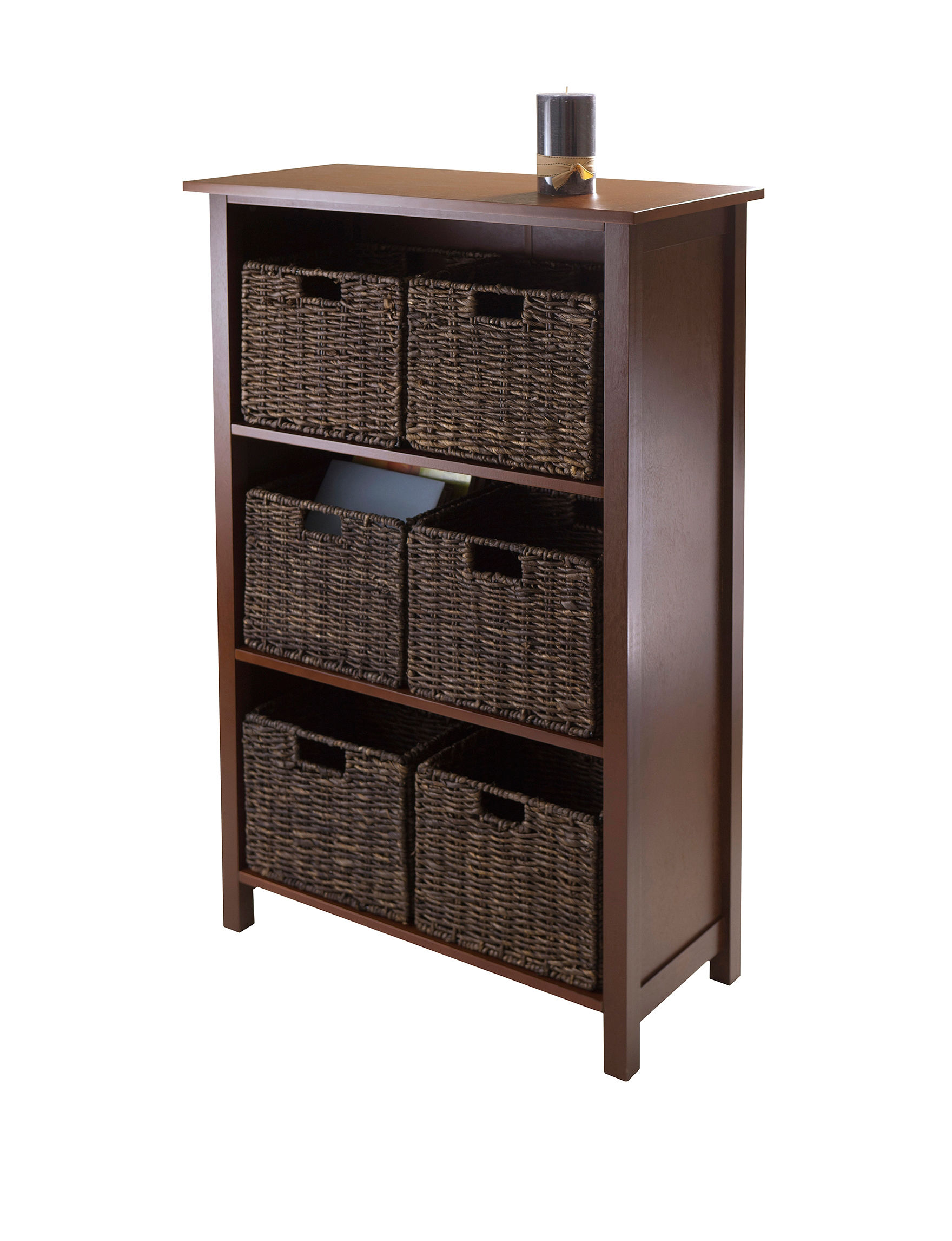 Home Trends And Design Retailers Winsome 7 Pc Granville Storage Shelf Stage Stores