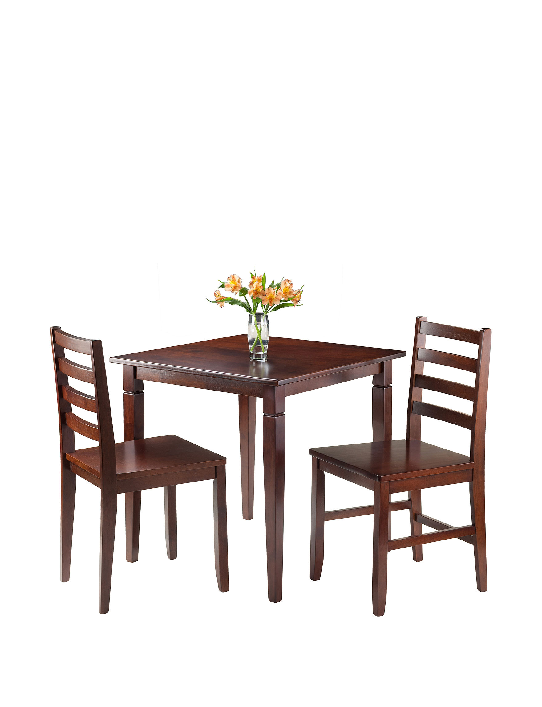 Winsome Dark Brown Dining Chairs Dining Room Sets Dining Tables Kitchen & Dining Furniture