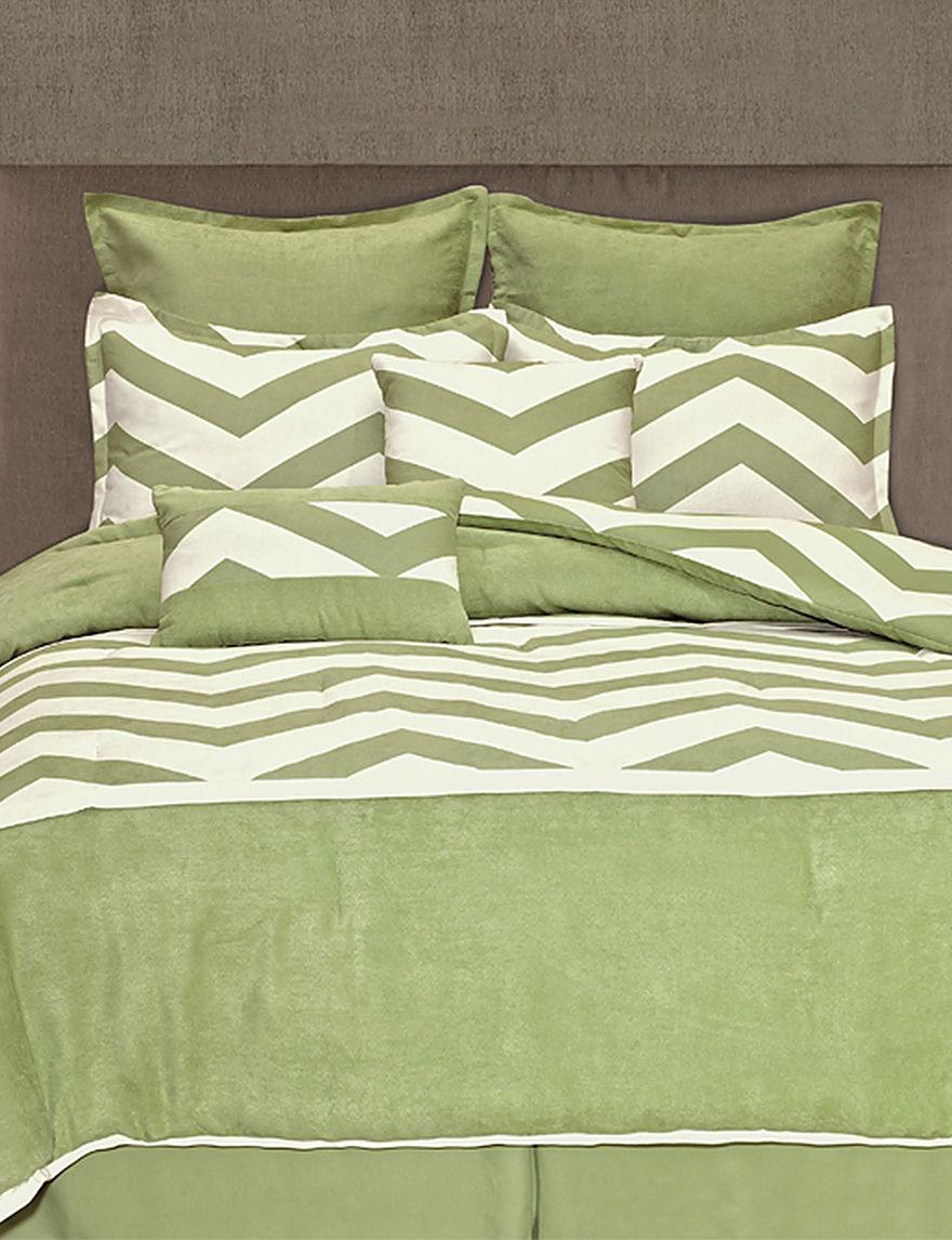 Home Fashions International Mint Green Comforters & Comforter Sets