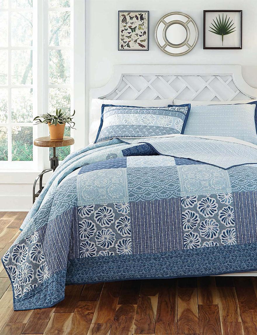 KD Spain Blue Quilts & Quilt Sets