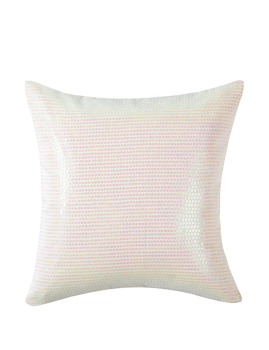 Vince Camuto Ivory Decorative Pillows