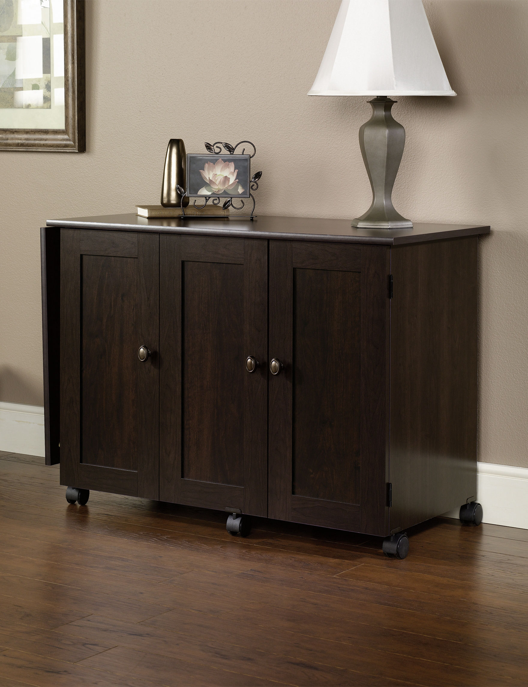 Sauder Brown Desks Home Office Furniture