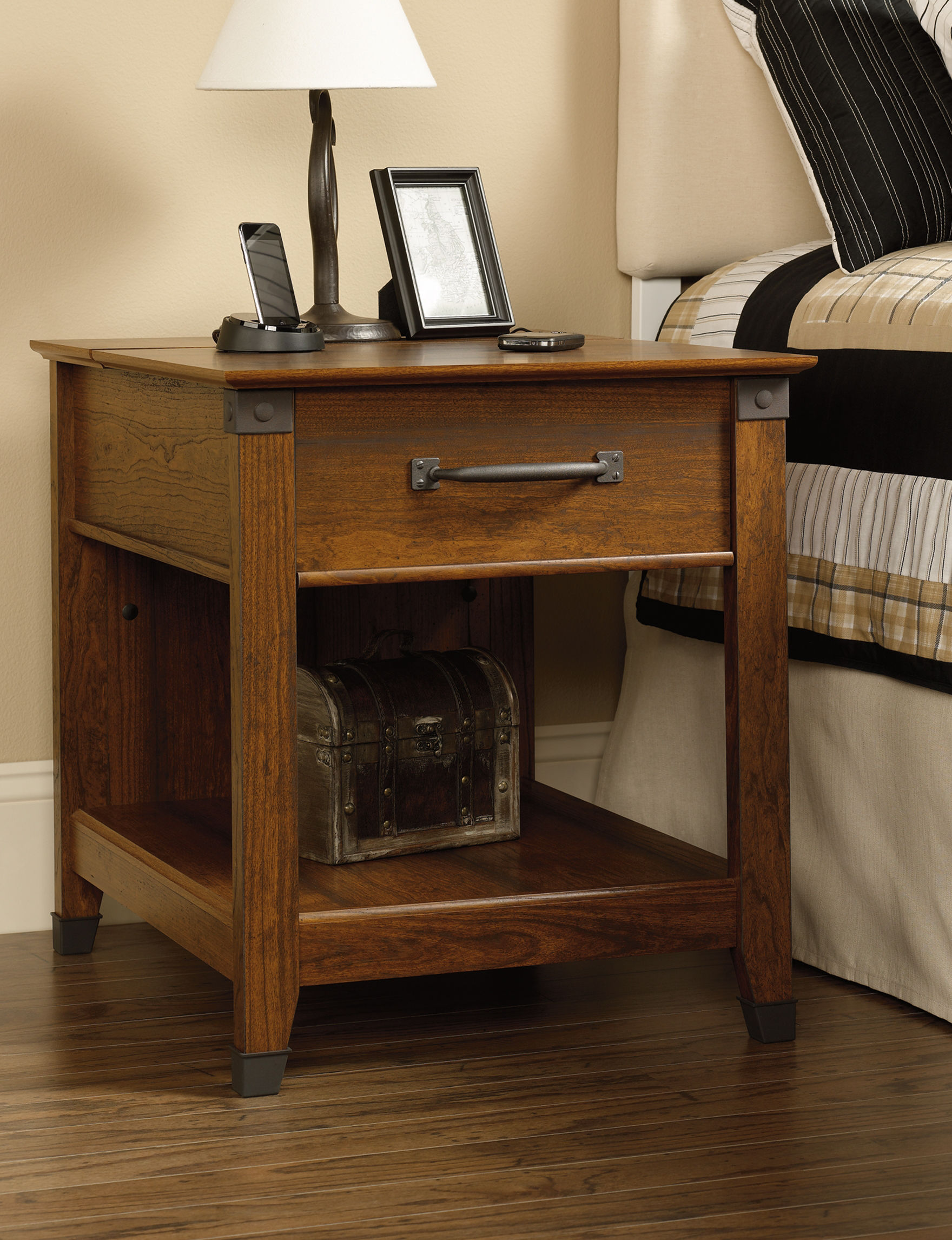 Sauder Brown Accent & End Tables Living Room Furniture