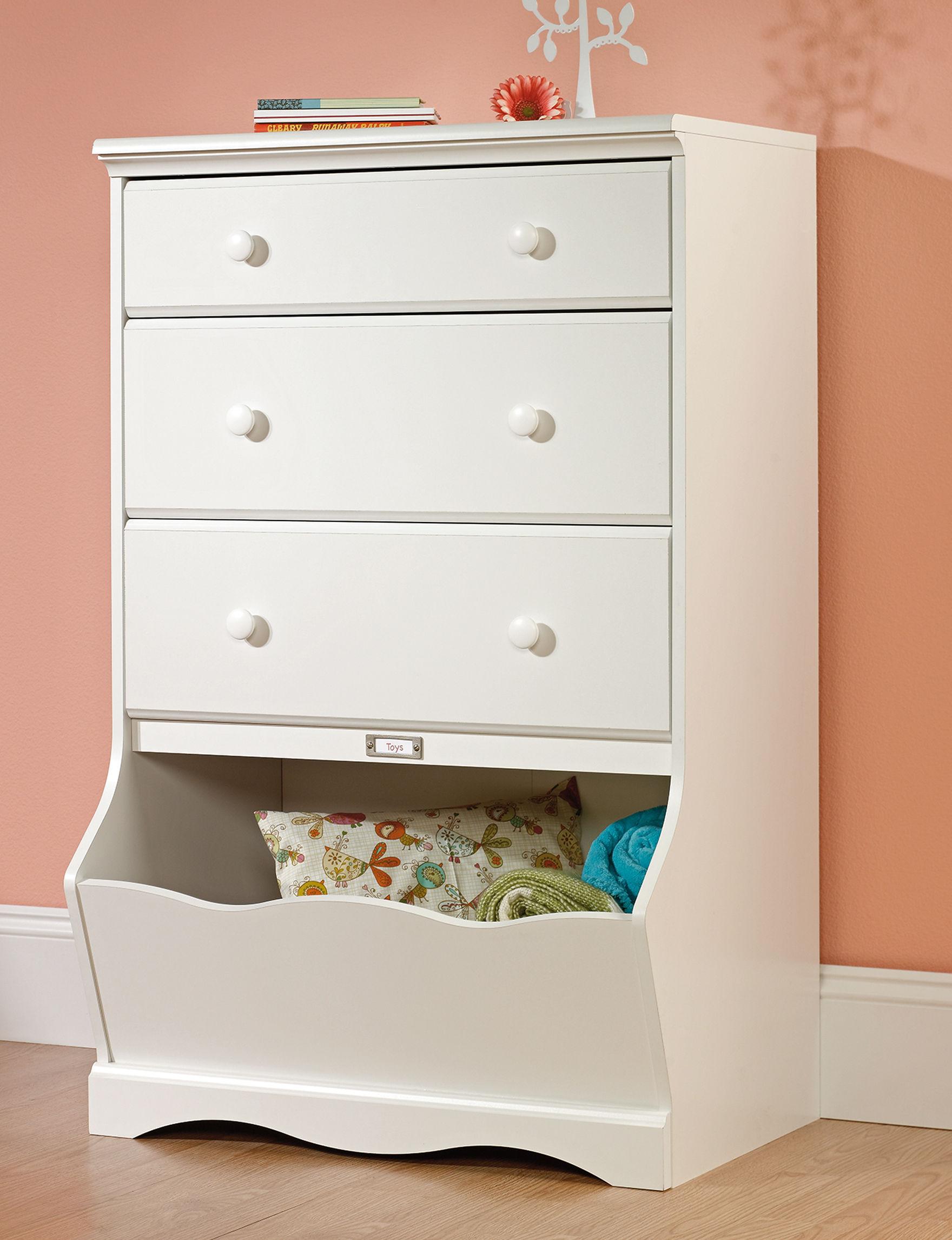 Sauder Off White Dressers & Chests Bedroom Furniture