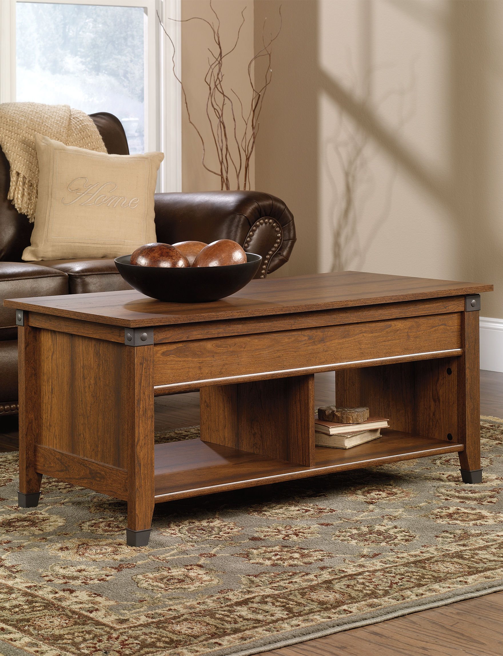 Sauder Brown Coffee Tables Living Room Furniture