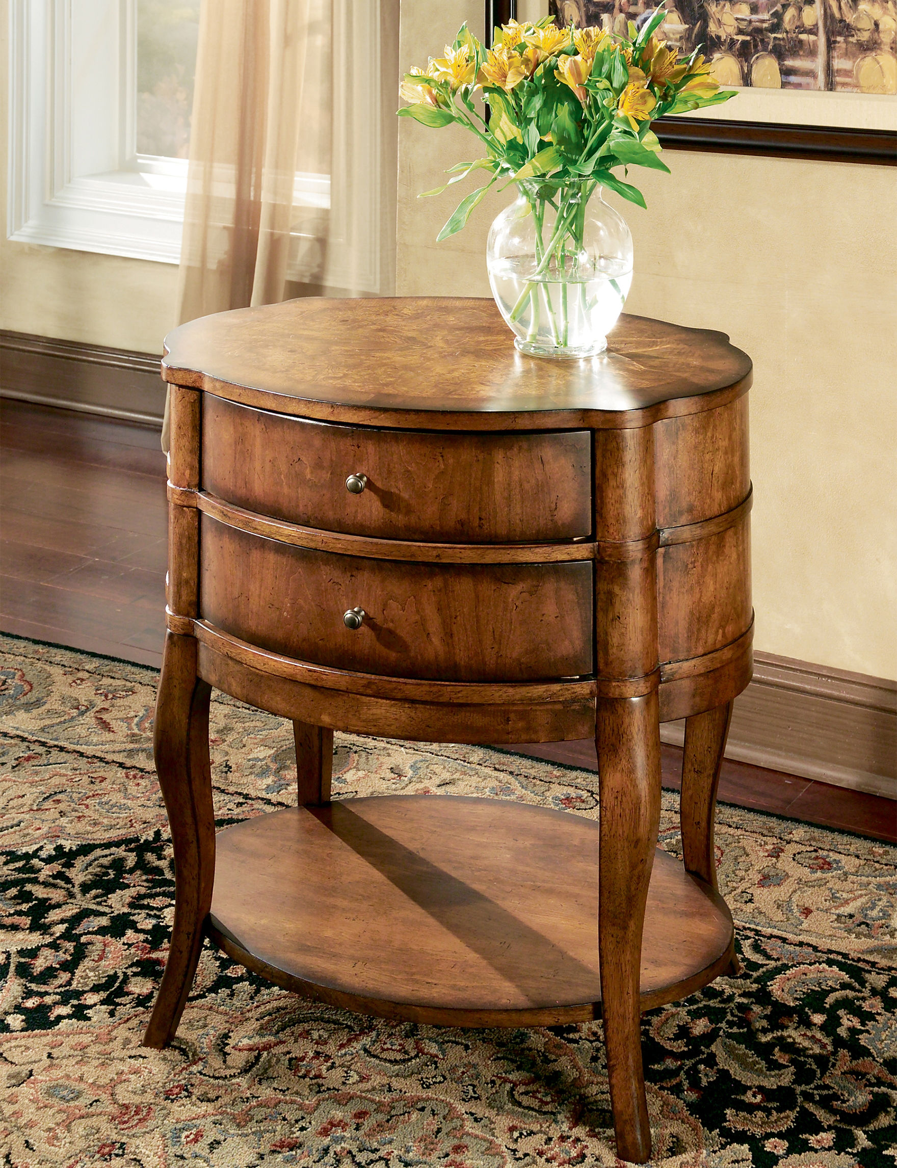 Butler Specialty Co. Umber Accent & End Tables Living Room Furniture