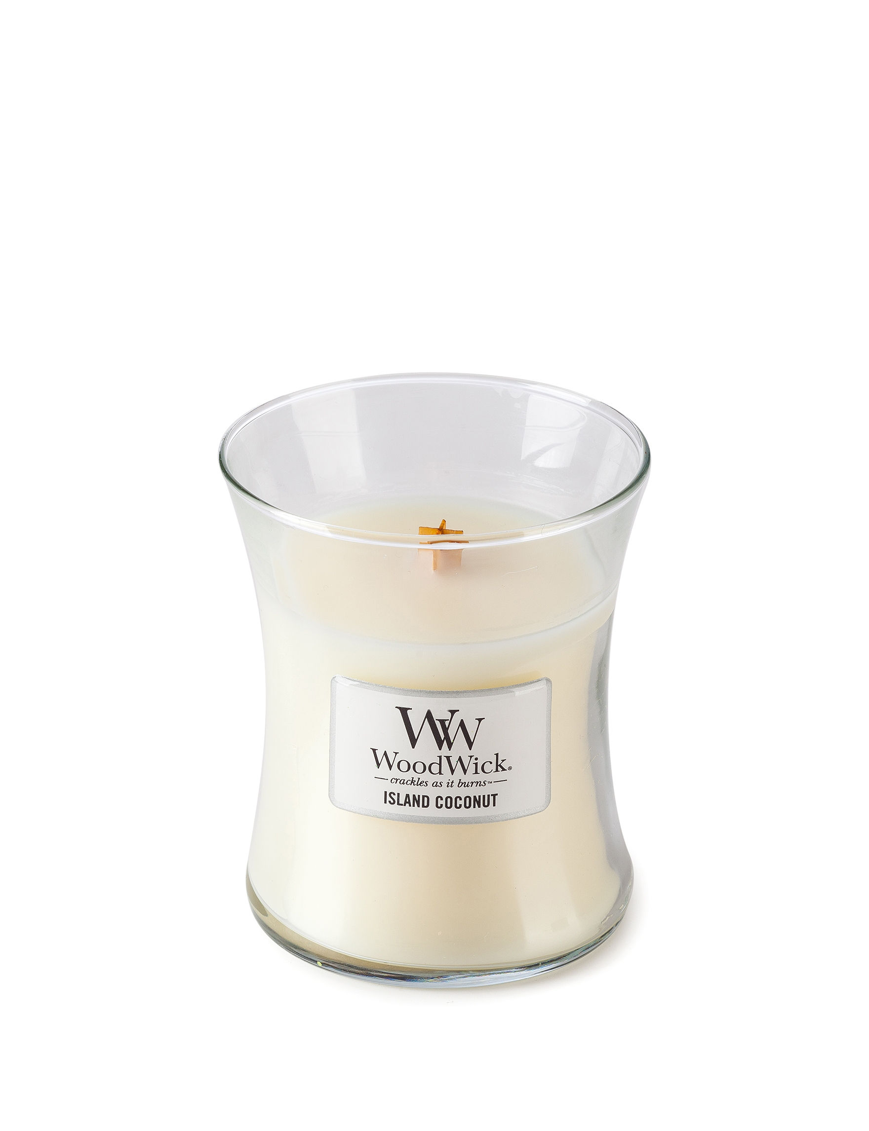 Woodwick White Candles Candles & Diffusers