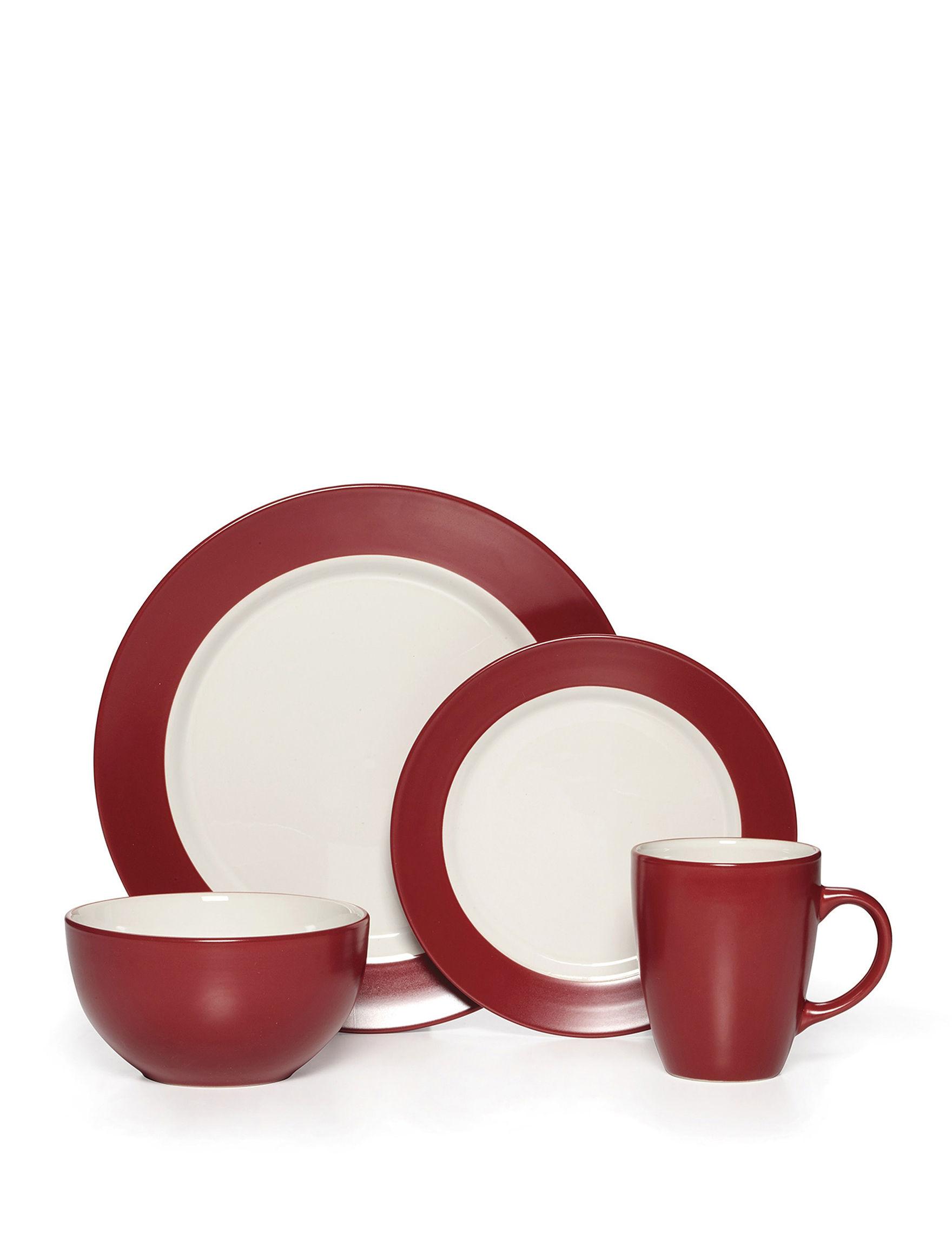 Pfaltzgraff Red Dinnerware Sets Dinnerware