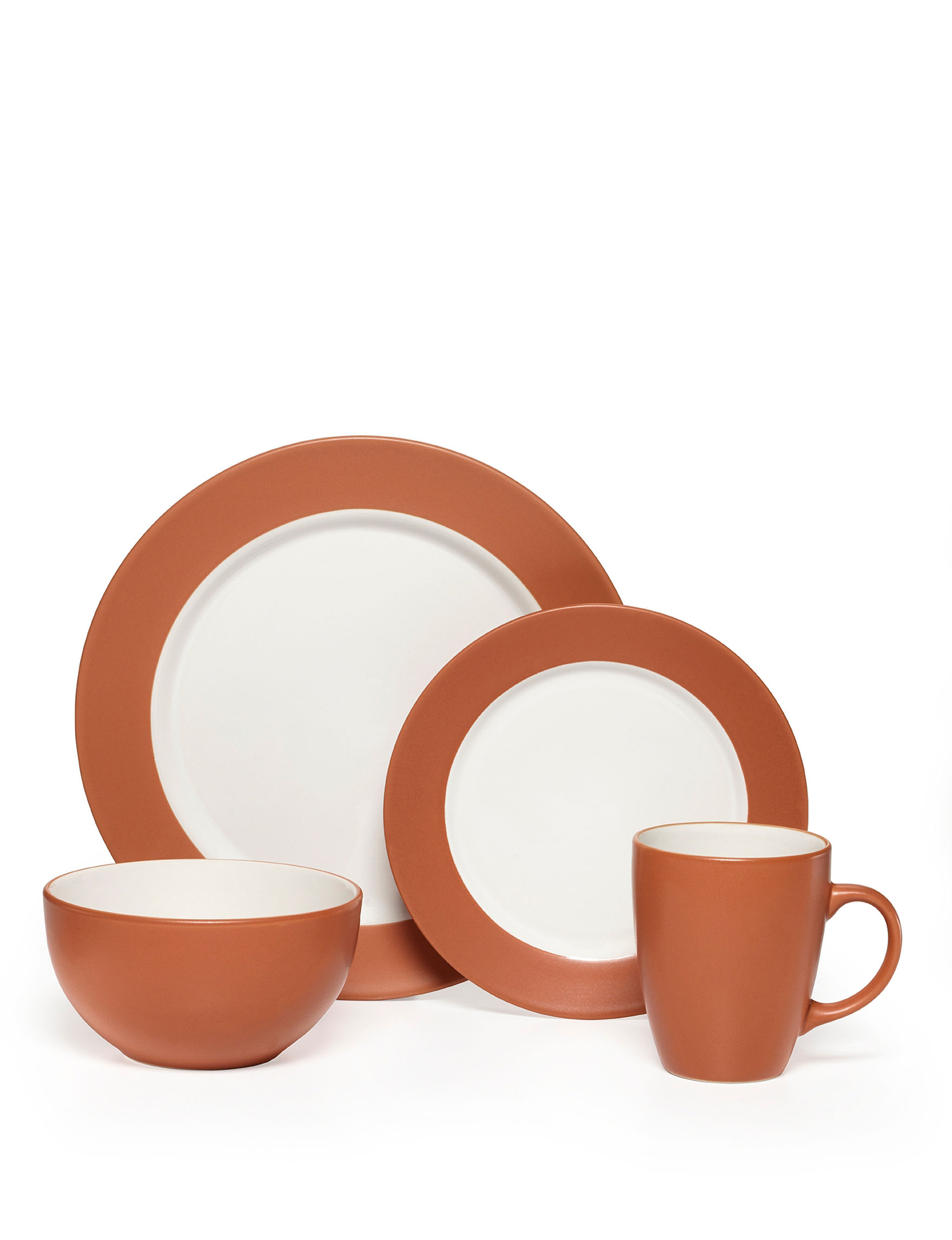 Pfaltzgraff Orange Dinnerware Sets Dinnerware