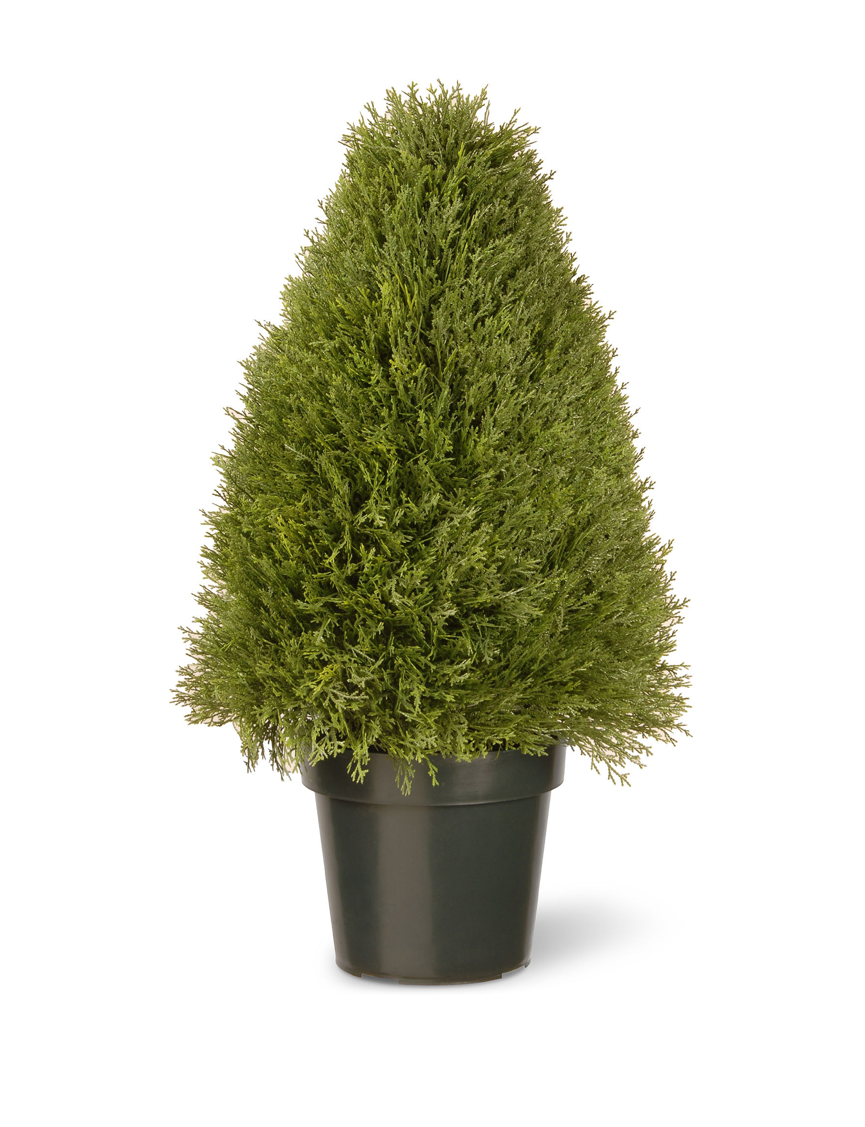 National Tree Company Green Faux Plants Outdoor Decor