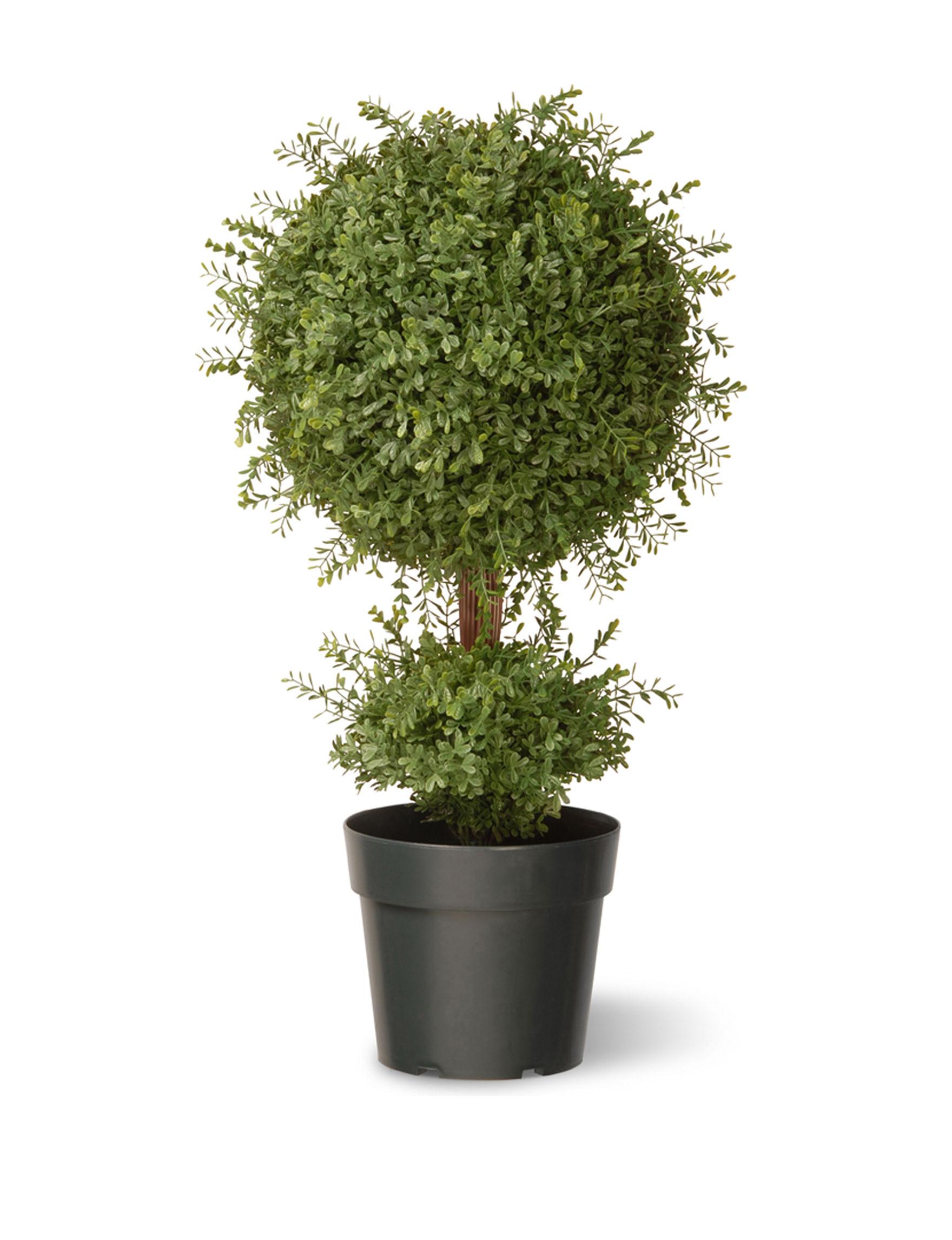 National Tree Company Green Faux Plants Outdoor Decor