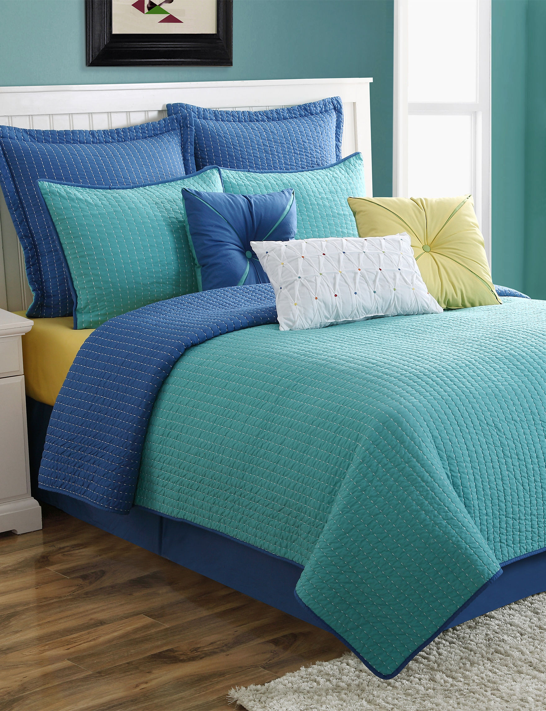 Fiesta Turqouise Quilts & Quilt Sets