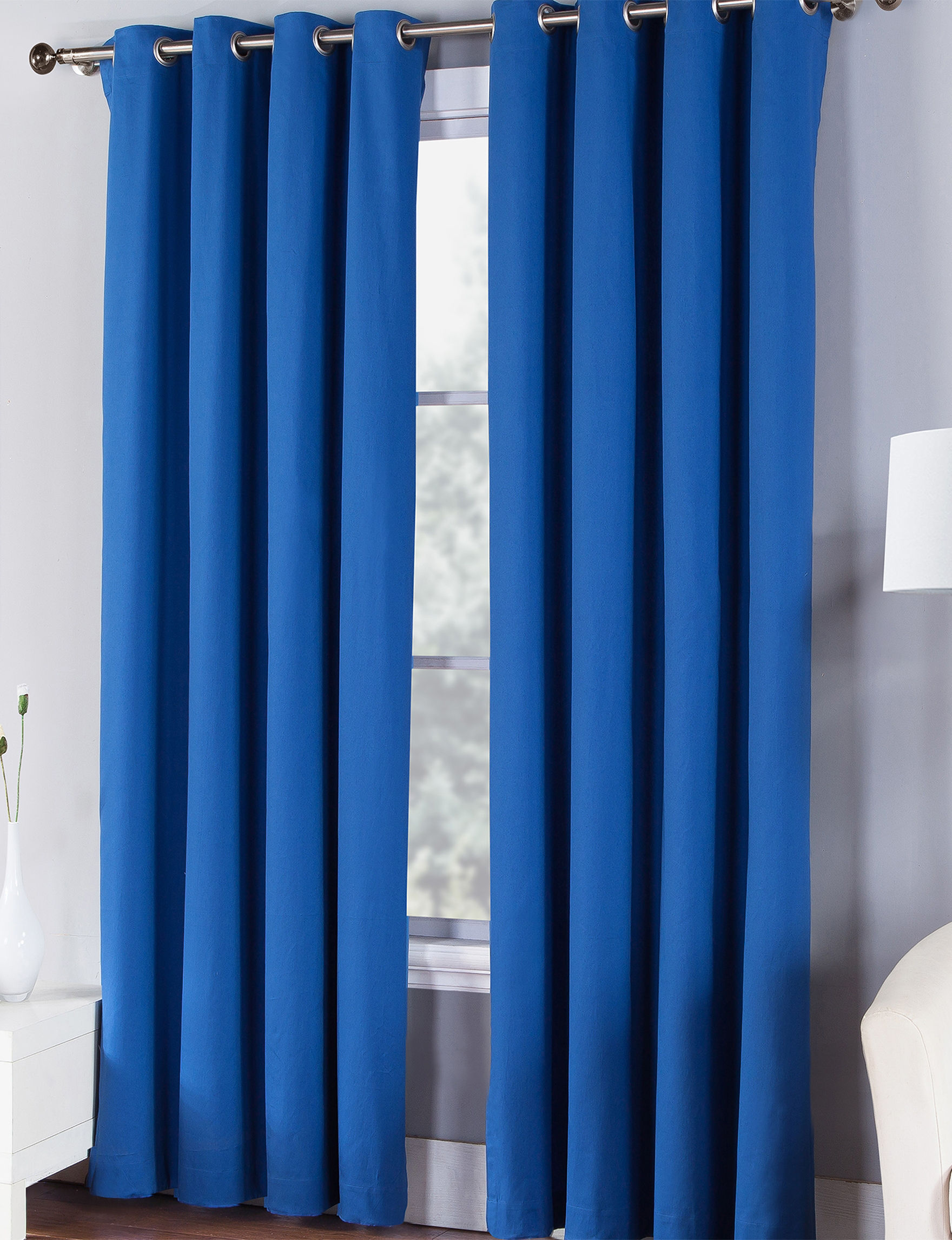 Fiesta Lapis Curtains & Drapes Window Treatments