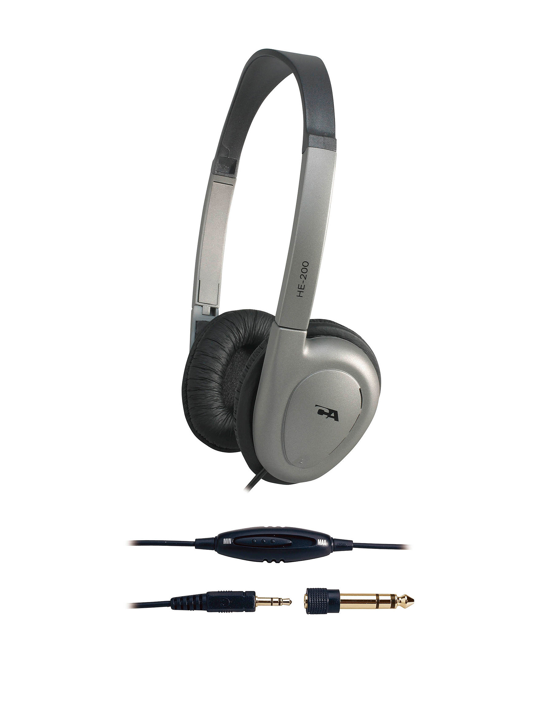 Cyber Acoustics Grey Headphones Home & Portable Audio Tech Accessories