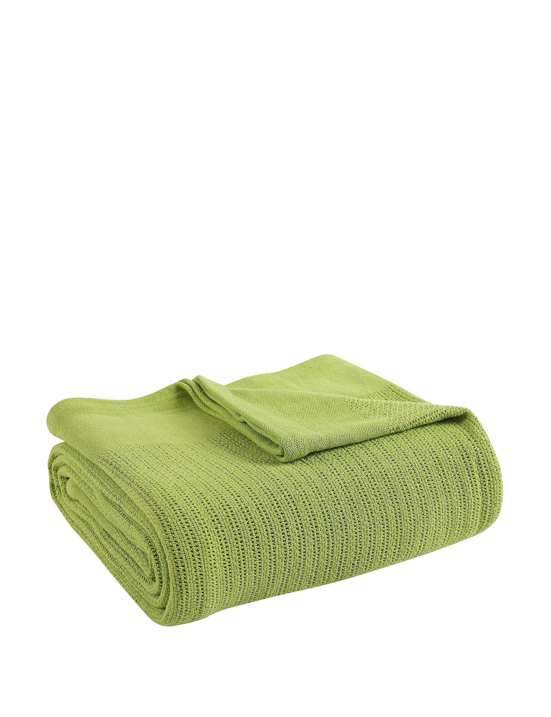 Fiesta Lime Blankets & Throws