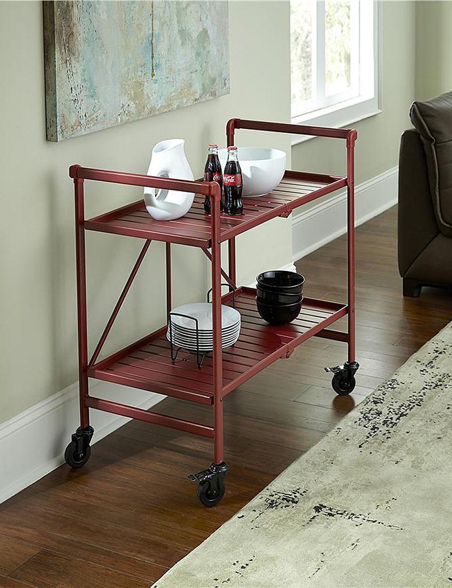 Cosco Crimson Kitchen Islands & Carts Kitchen & Dining Furniture