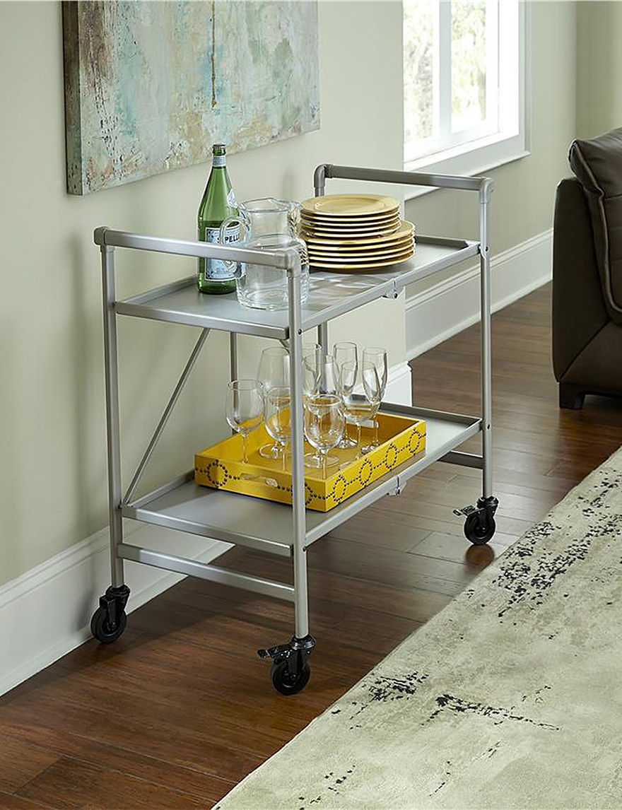 Cosco Silver Kitchen Islands & Carts Kitchen & Dining Furniture
