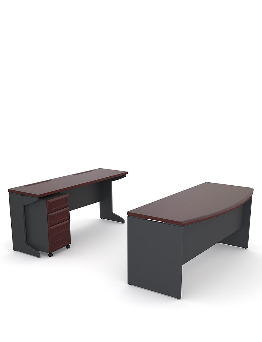 Altra Cherry Finish Desks Home Office Furniture