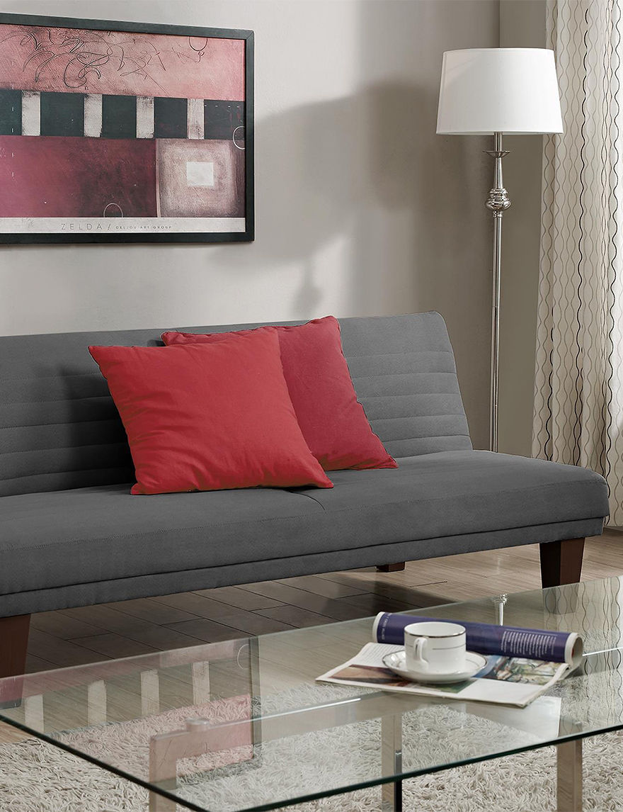 Dorel Grey Futons & Sofa Sleepers Living Room Furniture