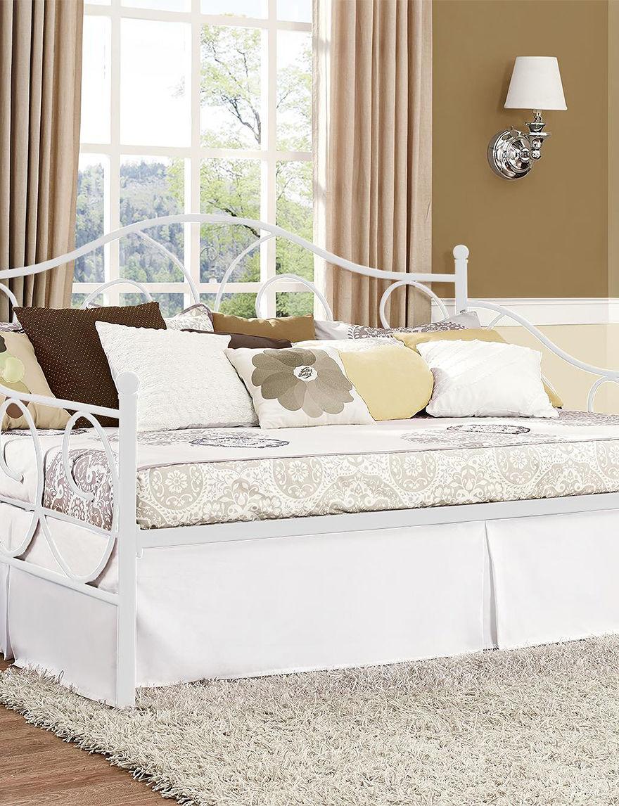 Dorel White Beds & Headboards Bedroom Furniture
