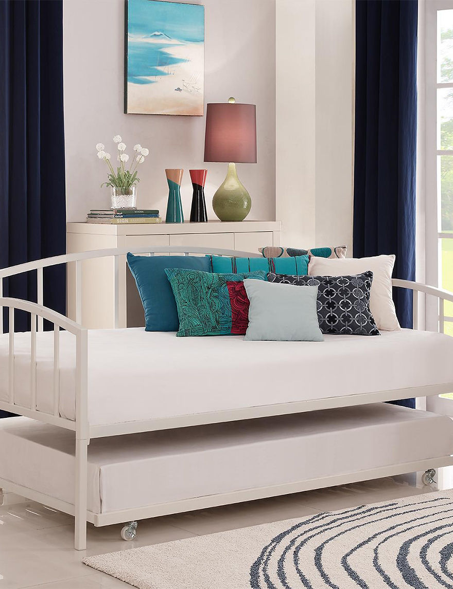 Dorel White Beds & Headboards Bedroom Furniture