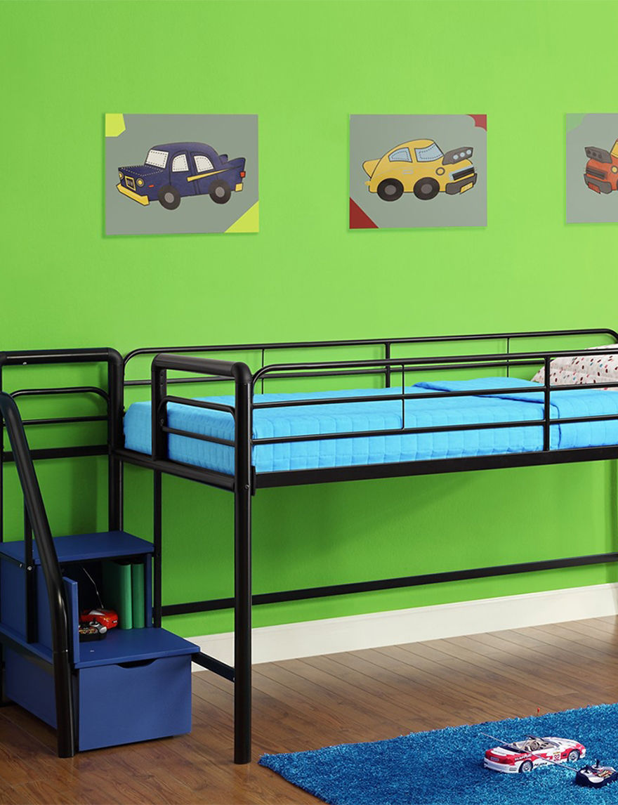 Dorel Blue Beds & Headboards Bedroom Furniture