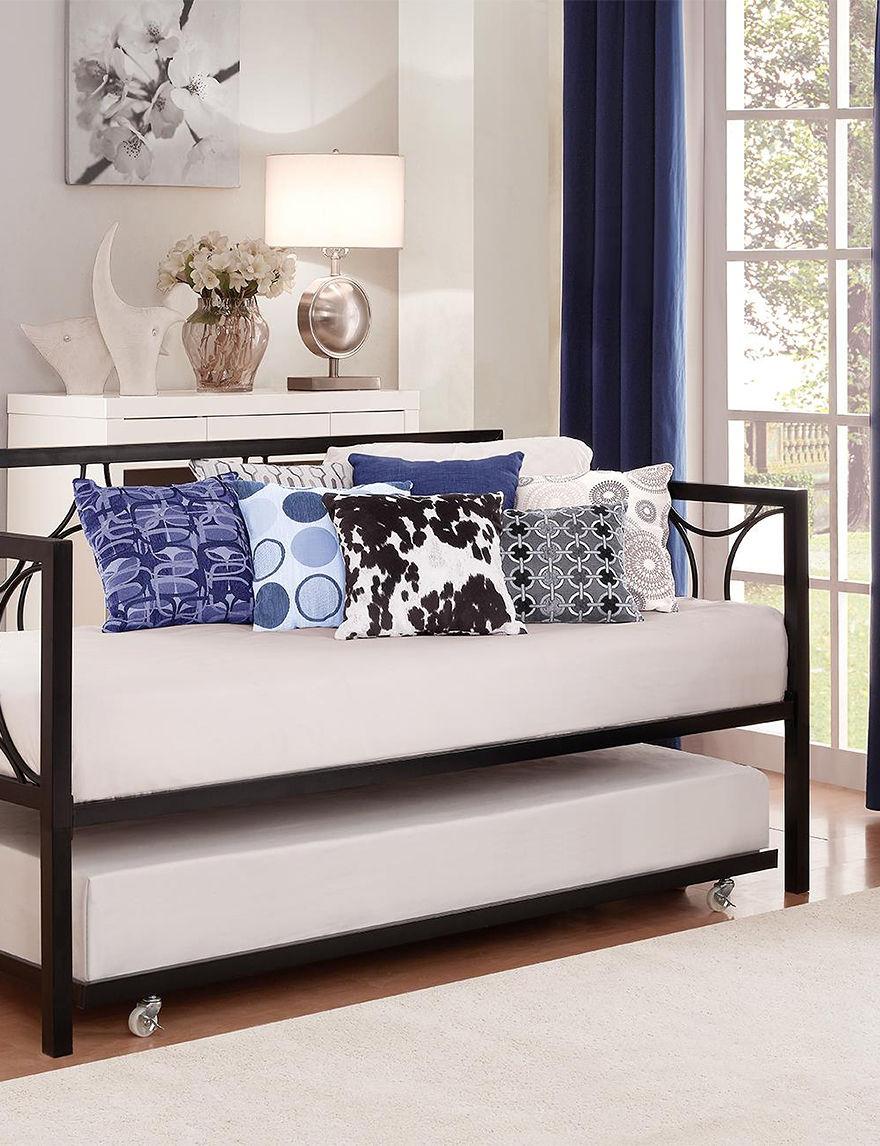 Dorel Black Beds & Headboards Bedroom Furniture