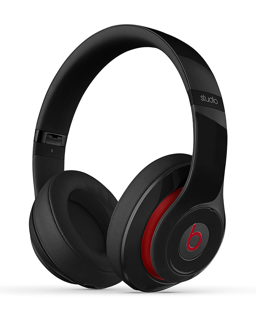 Beats by Dre Studio 2.0 Wired Beats Over Ear Headphones Black - Black - Beats by Dre