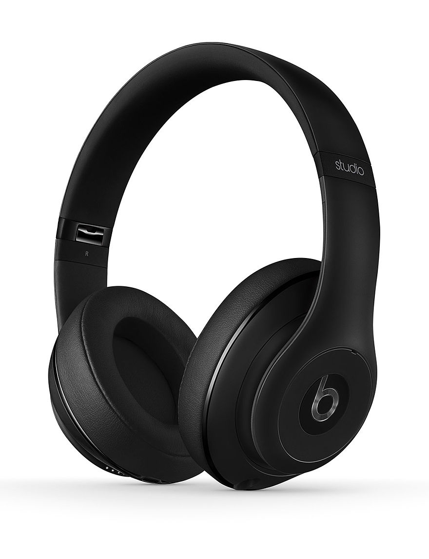 Beats by Dre Studio 2.0 Wired Beats Over Ear Headphones Matte Black - CLOSEOUT! - Black - Beats by Dre