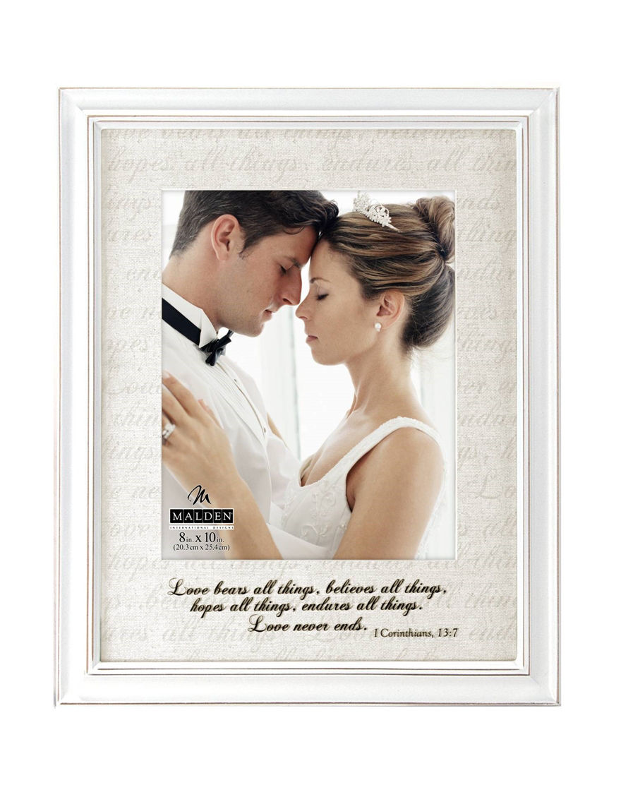 Malden Love Letters 11 x 14 White Frame | Stage Stores
