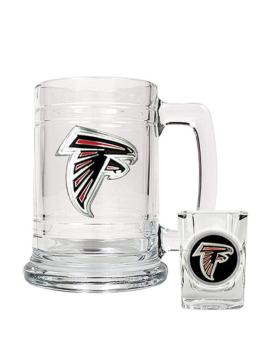 NFL Clear Beer Glasses