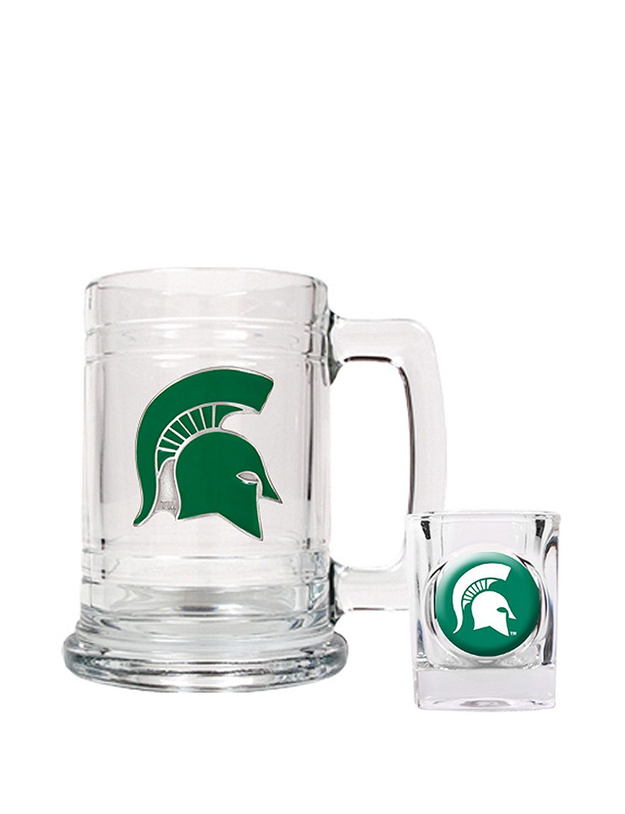 NCAA Clear Beer Glasses Cocktail & Liquor Glasses Drinkware Sets Mugs