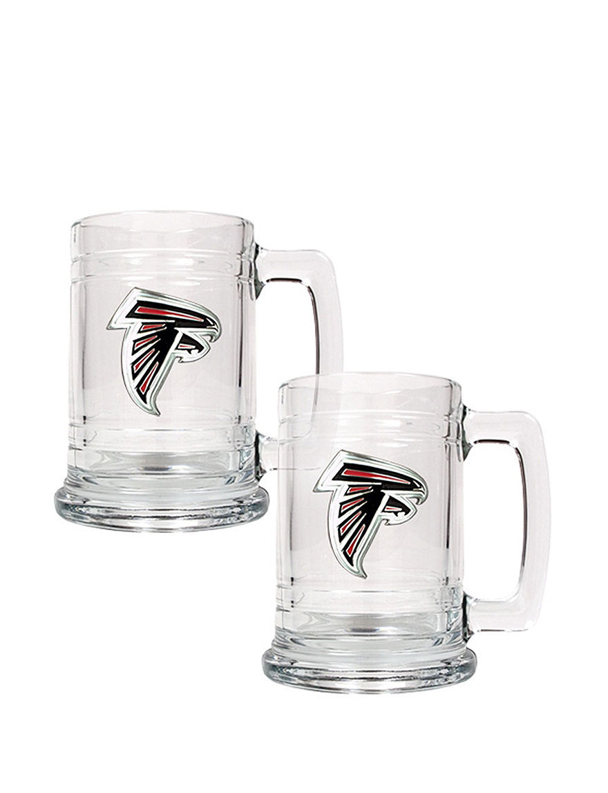 NFL Clear Beer Glasses Drinkware Sets Mugs Drinkware