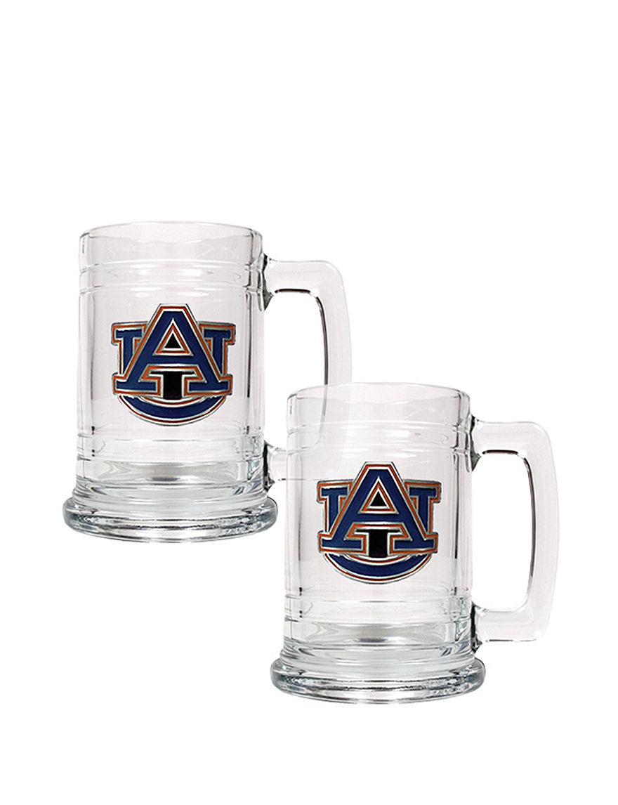 NCAA Clear Beer Glasses Mugs Drinkware