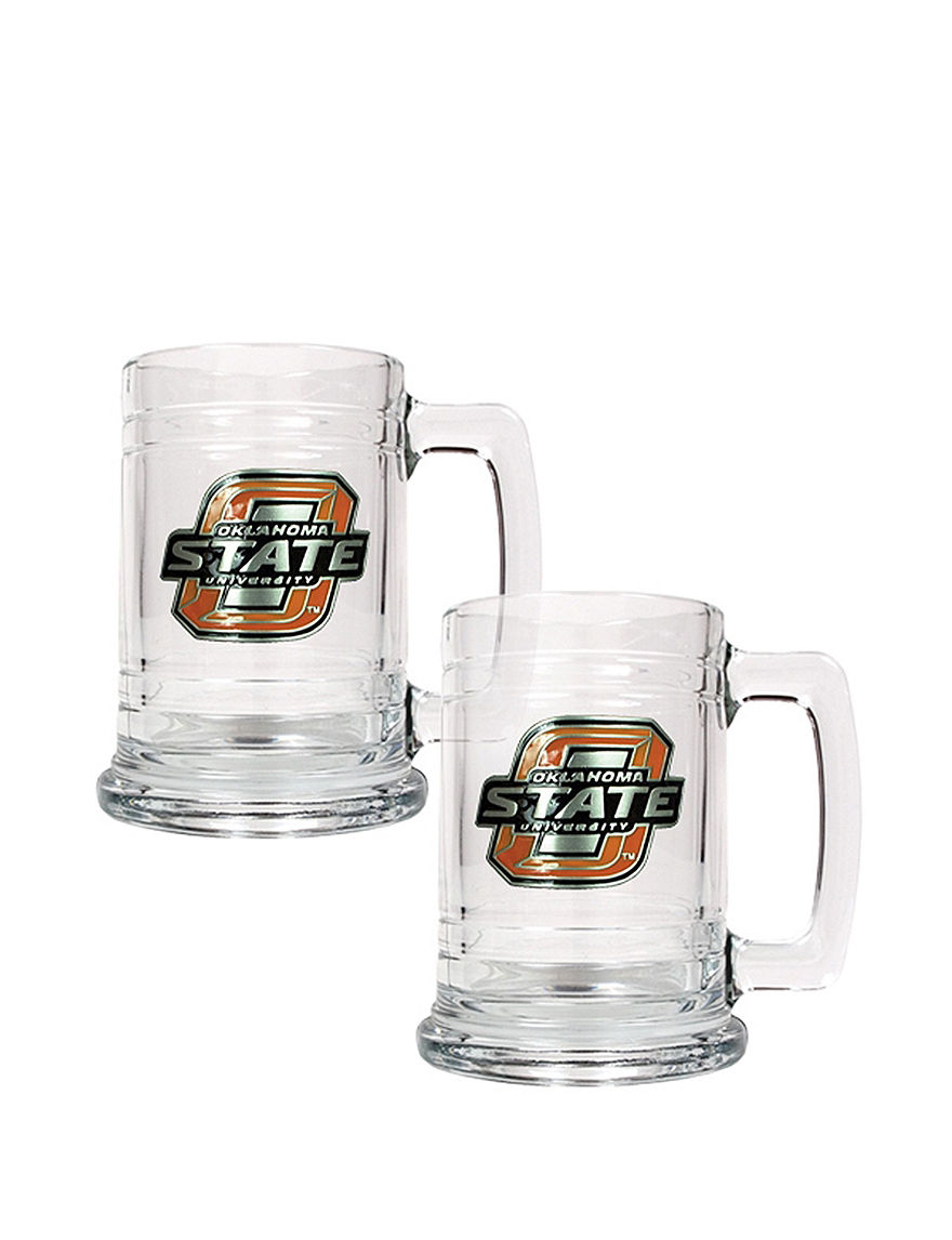NCAA Clear Beer Glasses